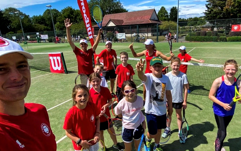 Junior Coaching | Emma Wells Tennis